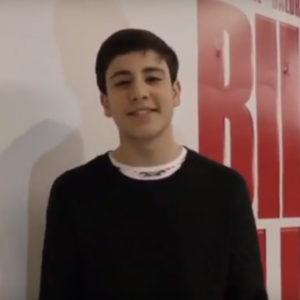Premio Dinamia Jaén 2018, categoría 'Talento Joven', para Diego Rey