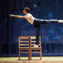 Diego en Billy Elliot El Musical (Foto Javier Naval)
